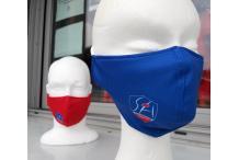 Lot de deux masques Rouge et Bleu