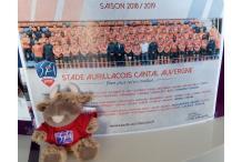 Poster officiel du Stade Aurillacois