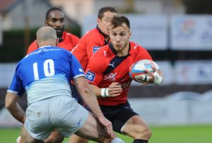 20767807_rugby match amical  Aurillac_Saracens