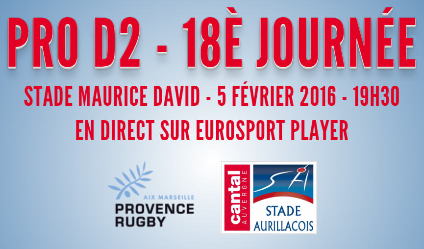 J18 : Provence Rugby – SA