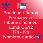 Permanence de la boutique