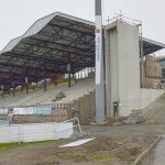 Visite de chantier du Stade Jean Alric