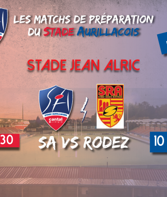 Match amical Aurillac/Rodez