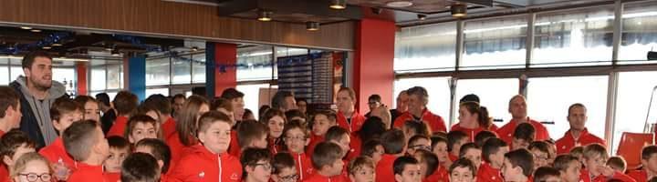 La rentrée de l'école de rugby