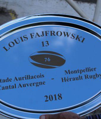 Le trophée Louis FAJFROWSKI