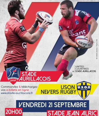 Stade Aurillacois / USON Nevers Rugby