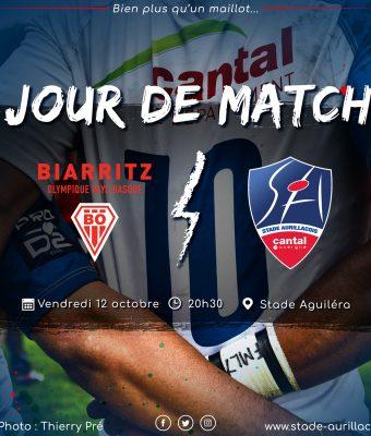 Match Biarritz / Aurillac
