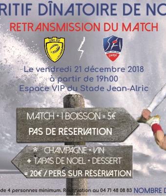 Noël au Stade Aurillacois