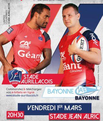 Match Aurillac / Bayonne