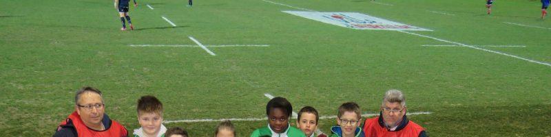L'école de rugby très active le 1er et 2 mars