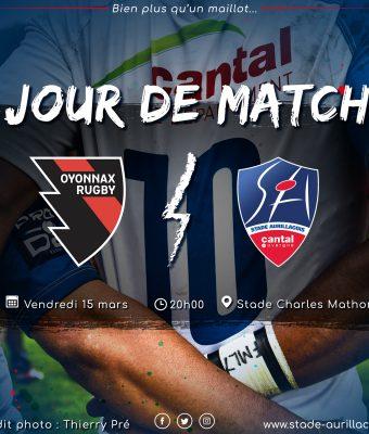 Match Oyonnax / SA (défaite)