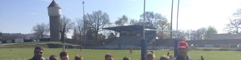 Le samedi 13 avril à l'école de rugby
