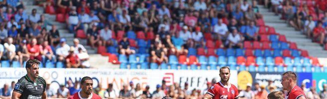 Retour en images sur le match SA/Biarritz