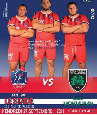 Match SA / US Montauban – Reporté au 29 novembre