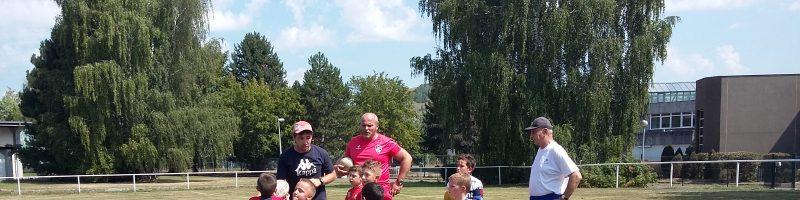 Samedi 31 août – La rentrée de l'école de rugby