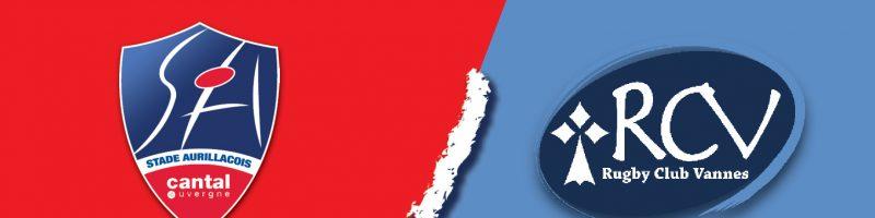 Le match Aurillac / Vannes – Victoire