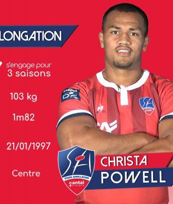 Christa Powell et le SA prolonge pour 3 ans