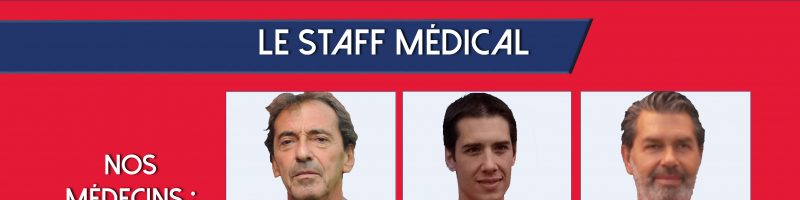 Effectif 2020/2021 : le staff médical