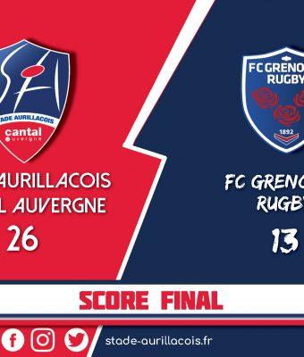 Match SA / FCG – Victoire