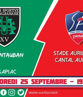 Le match Montauban / Aurillac