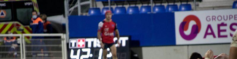 Retour en images sur le match Aurillac / Nevers