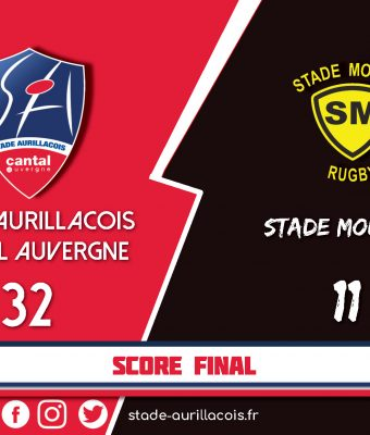 Victoire du Stade Aurillacois face à Mont de Marsan