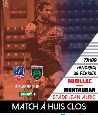 Stade Aurillacois / Montauban