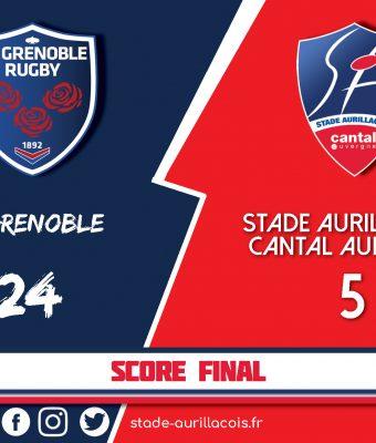 Défaite du Stade à Grenoble