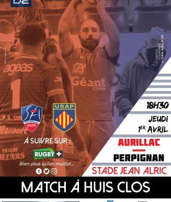 Stade Aurillacois / USA Perpignan
