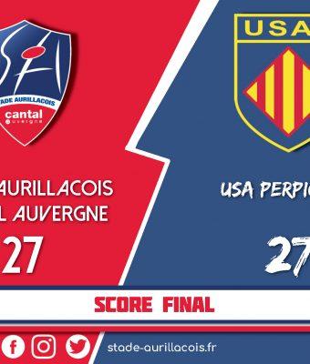 Match Nul face à Perpignan