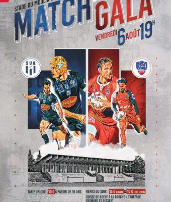 Le match Aurillac / Agen