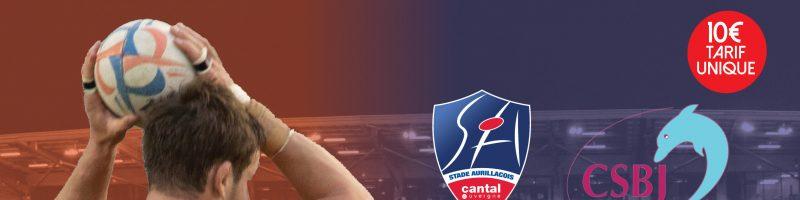 Stade Aurillacois / CS Bourgoin Jallieu