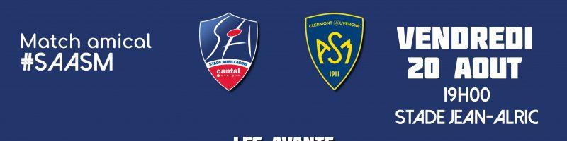 Le groupe du Stade face à Clermont