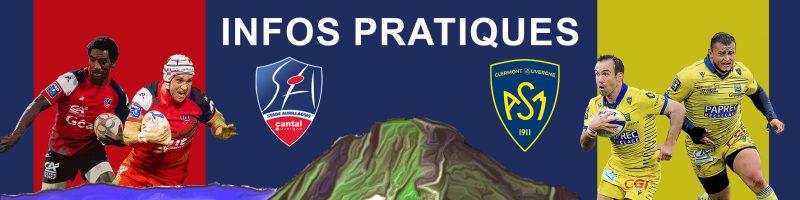 Infos pratiques : Aurillac / Clermont