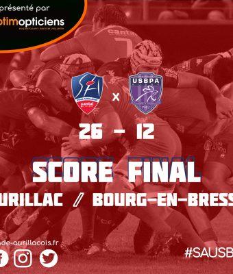 Victoire du Stade face à Bourg-en-Bresse