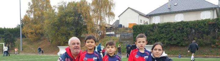 L'Ecole de Rugby en déplacement le weekend dernier