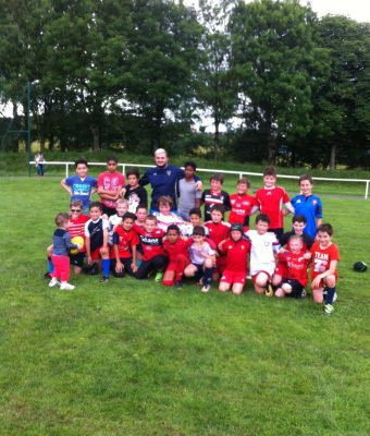 Giorgi Beria à la rencontre de l'école de rugby