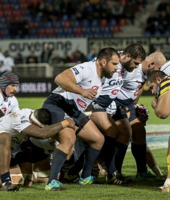 Retour en images sur le match SA / Mont-de-Marsan