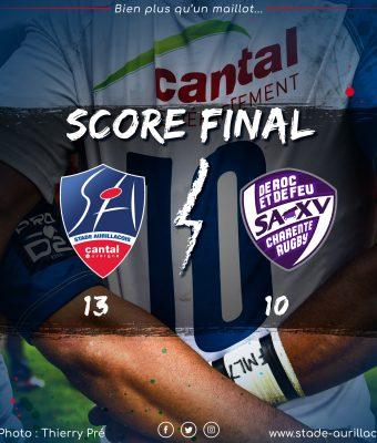 Match Aurillac / Angoulême (victoire)