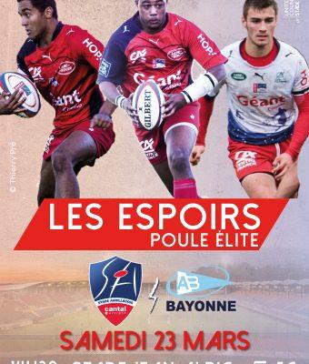 Les Espoirs SA / Bayonne (Victoire Bonifiée)