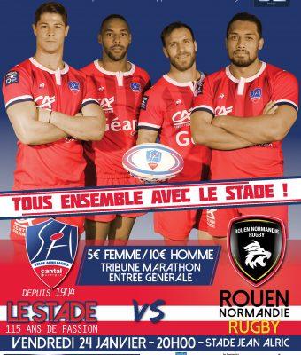 Le match SA / Rouen