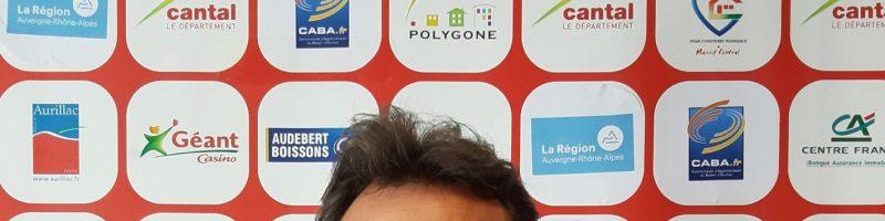 Roméo Gontinéac, nouvel entraîneur du Stade Aurillacois