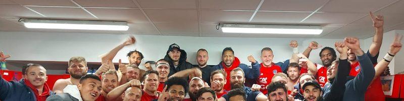 Victoire du Stade Aurillacois Cantal Auvergne !