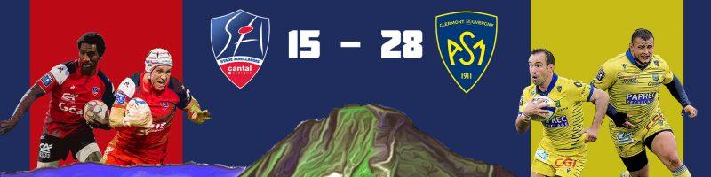 Défaite du Stade Aurillacois face à Clermont